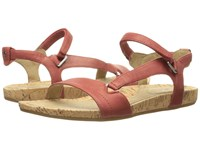 Teva Capri Universal Pearlized Red Women's Sandals Orange