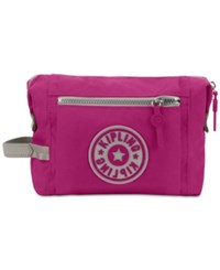Kipling Leslie Cosmetic Bag Purple Raisin