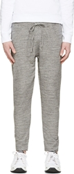 Dsquared Grey Slub New Dean Fit Lounge Pants