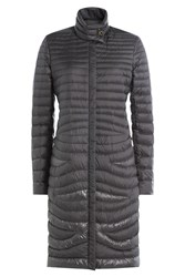 Salvatore Ferragamo Quilted Parka Grey