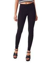 Miss Selfridge Solid Ankle Leggings Black