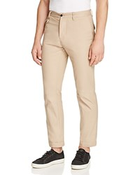 Uniform Five Pocket Regular Fit Chino Pants Khaki