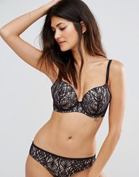 Ultimo Delphinus Omg Fuller Bust Bra Black And Gold