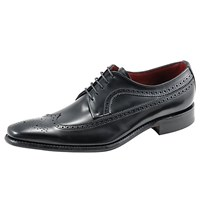 Loake Bros. Clint Long Wing Brogues Black