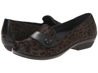 Dansko Olena Brown Cheetah Hair Calf Women's Slip On Shoes