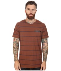 Tavik Tracer Short Sleeve Knit Brown Men's Short Sleeve Knit