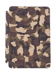 L'eclaireur Made By Jean Rousseau Camouflage Ipad Mini Holder Brown