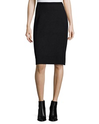 Eileen Fisher Fitted Jacquard Pencil Skirt