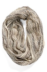 Women's Collection Xiix Knit Infinity Scarf Ivory Creamy White