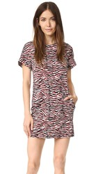 Just Cavalli Zebra Vibe Dress Corallo Variant