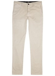 7 For All Mankind Slimmy Luxe Performance Slim Leg Chinos Beige