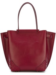 Tod's 'Wamra' Tote Red