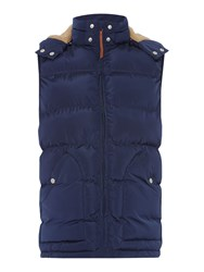 Howick Men's Tacoma Hooded Gilet Navy