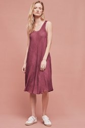 Anthropologie Barton Swing Chemise Washed Currant