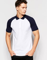 Only And Sons Polo Shirt White