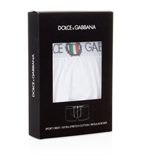 Dolce And Gabbana Sport Crest Regular Trunks Male