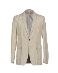 Forme D'expression Suits And Jackets Blazers Men Beige