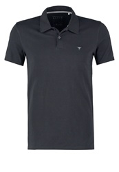 Guess Extraslim Fit Polo Shirt Jet Black