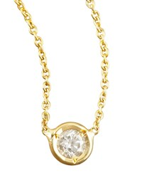 Station Diamond Necklace Roberto Coin Red