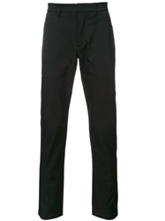 Kazuyuki Kumagai Slim Fit Trousers Black