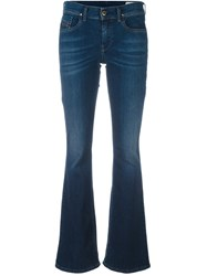 Diesel Stretch Flared Jeans Blue