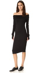 Skin Tube Dress Black