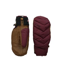 Dakine Tundra Mitt Rosewood Extreme Cold Weather Gloves Red