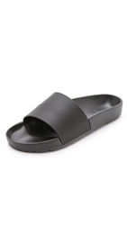 Hunter Mustache Slides Black Dark Slate