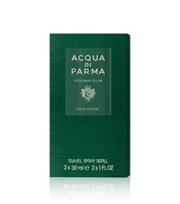 Acqua Di Parma Colonia Club Travel Spray Refills Edc 2 X 30Ml Unisex