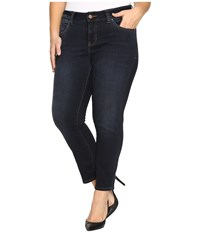 Jag Jeans Plus Size Penelope Narrow Ankle In Indio Platinum Denim Indio Women's Blue