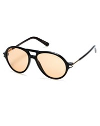 Tom Ford Tom N.10 Private Collection Horn Aviator Sunglasses Black