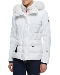 Post Card Alake Bmat Quilted Down Jacket W Fur Hood