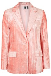 Mayall Blazer Jacket By Unique Pale Pink