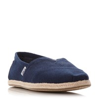 Toms Seasonal Classi Slip On Espadrille Navy