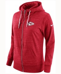 Nike Women's Kansas City Chiefs Tailgate Vintage Full Zip Hoodie Red