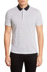 Men's Hugo 'Dawaii Palm Tree' Print Pique Polo