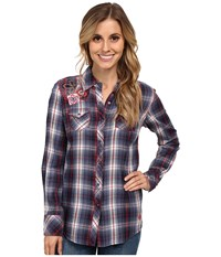 Ariat Ashley Snap Shirt Multi Women's Long Sleeve Pullover