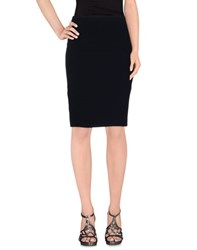 Antonio Fusco Skirts Knee Length Skirts Women Dark Blue
