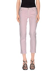 Dondup Denim Denim Trousers Women Light Pink