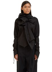 Aganovich Double Knot Shirt Black