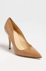 Women's Kate Spade New York 'Licorice Too' Pump New Camel Patent