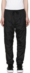 Alexander Wang Black Embroidered Track Pants