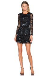 Needle And Thread Embellished Butterfly Playsuit Black