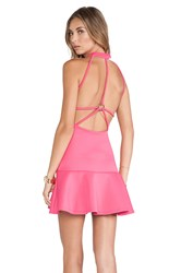 Nbd Babe Fit And Flare Dress Pink