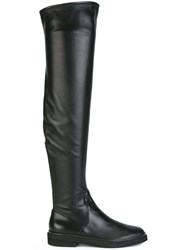 Sergio Rossi Over The Knee Boots Black