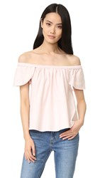 Sincerely Jules Carmen Top Pink