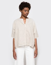 Objects Without Meaning Pullover Poncho Oatmeal