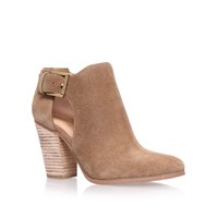 Michael Kors Adams High Heel Ankle Boots Brown