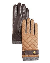Polo Ralph Lauren Quilted Nylon Gloves Company Oil