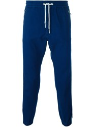 Diesel Side Stripe Track Pants Blue
